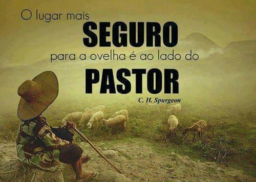 Recado Facebook O meu Pastor cuida de mim!