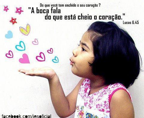 Recado Facebook O que tem no seu coração?