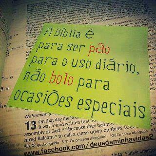 Recado Facebook A bíblia