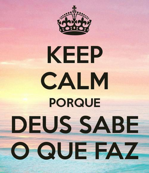 Recado Facebook Keep Calm