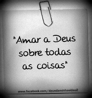 Recado Facebook Amar Deus