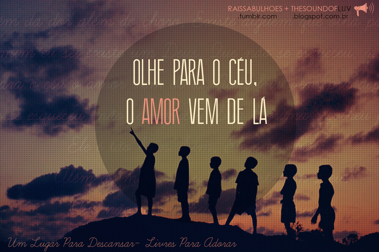 Recado Facebook O amor vem do céu