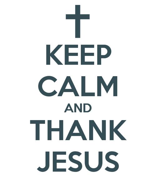 Recado Facebook Tenha calma e agradeça a Jesus