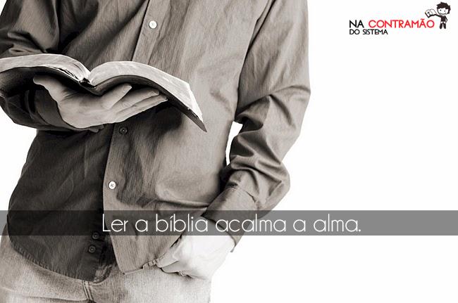 Recado Facebook ler a bíblia