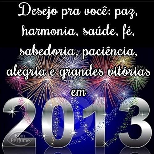 Recado Facebook Desejos para 2013