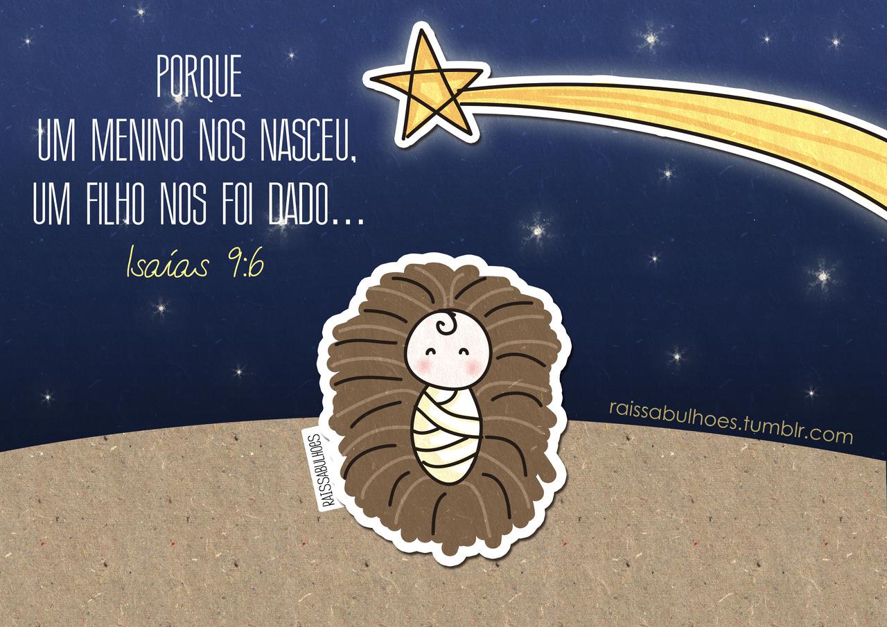Recado Facebook Feliz natal com JESUS!
