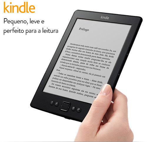 Recado Facebook Chegou o Kindle (Leitor de Ebook) da Amazon no BRASIL!