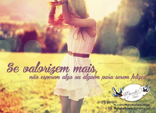 Recado Facebook Meninas, se valorizem mais!