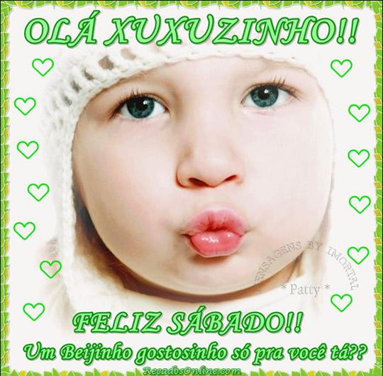 Recado Facebook Xuxuzinho, feliz sábado!