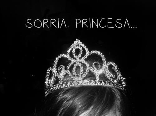 Recado Facebook Sorria, princesa
