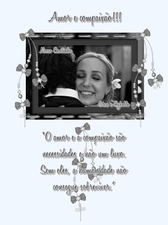 Recado Facebook Amor e compaixão!