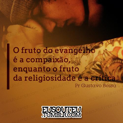 Recado Facebook Tenha compaixão!
