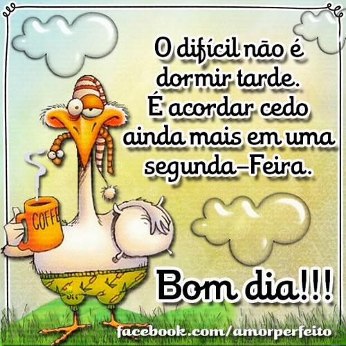 Recado Facebook Bom dia pra você