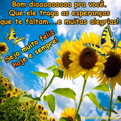 Recado Facebook Bom diaaaaa pra você!