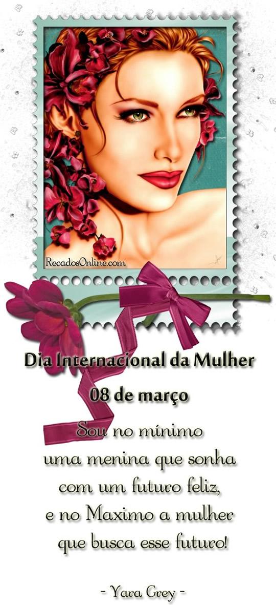 Recado Facebook Dia internacional da mulher!