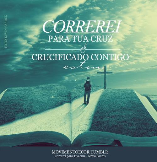 Recado Facebook Estou crucificado com Cristo!