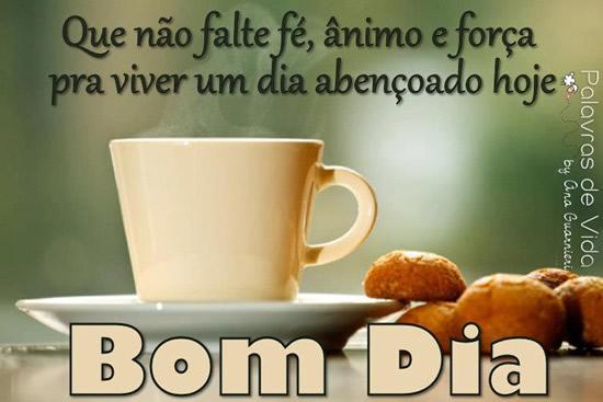 Recado Facebook Viva um dia abençoado!