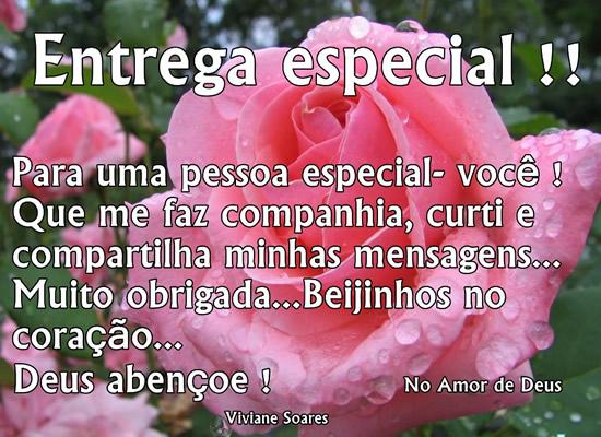 Recado Facebook Entrega especial…