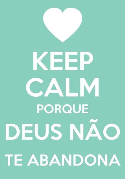 Recado Facebook Keep Calm