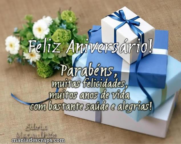 Recado Facebook Feliz aniversário, meu amigo!