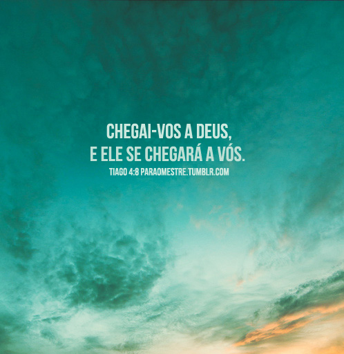 Recado Facebook Tiago 4:8