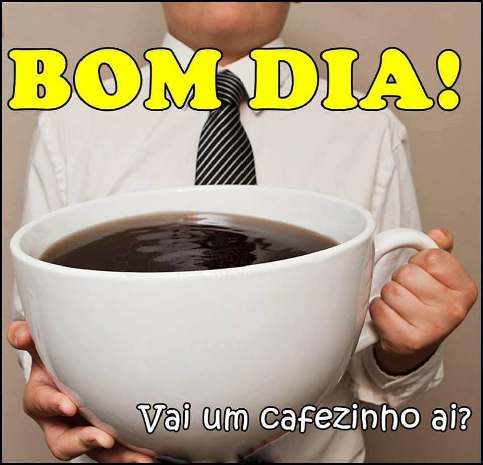 Recado Facebook Bom dia! Vai um cafezinho ai?