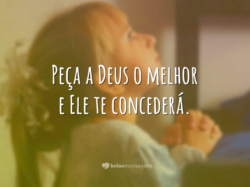 Recado Facebook Creia e confie Nele!