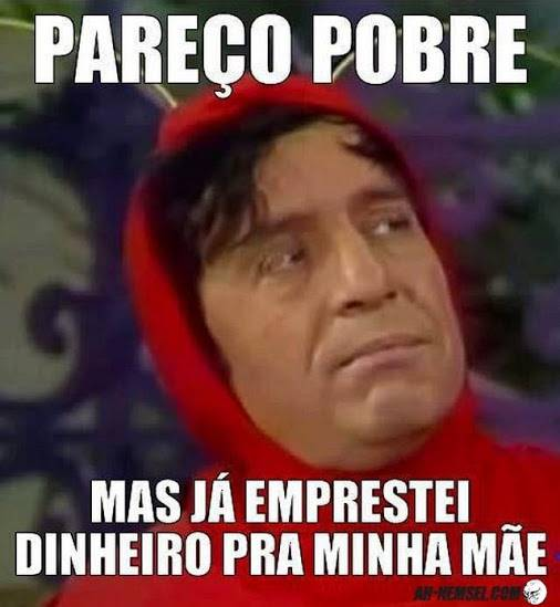 Recado Facebook Pareço pobre…