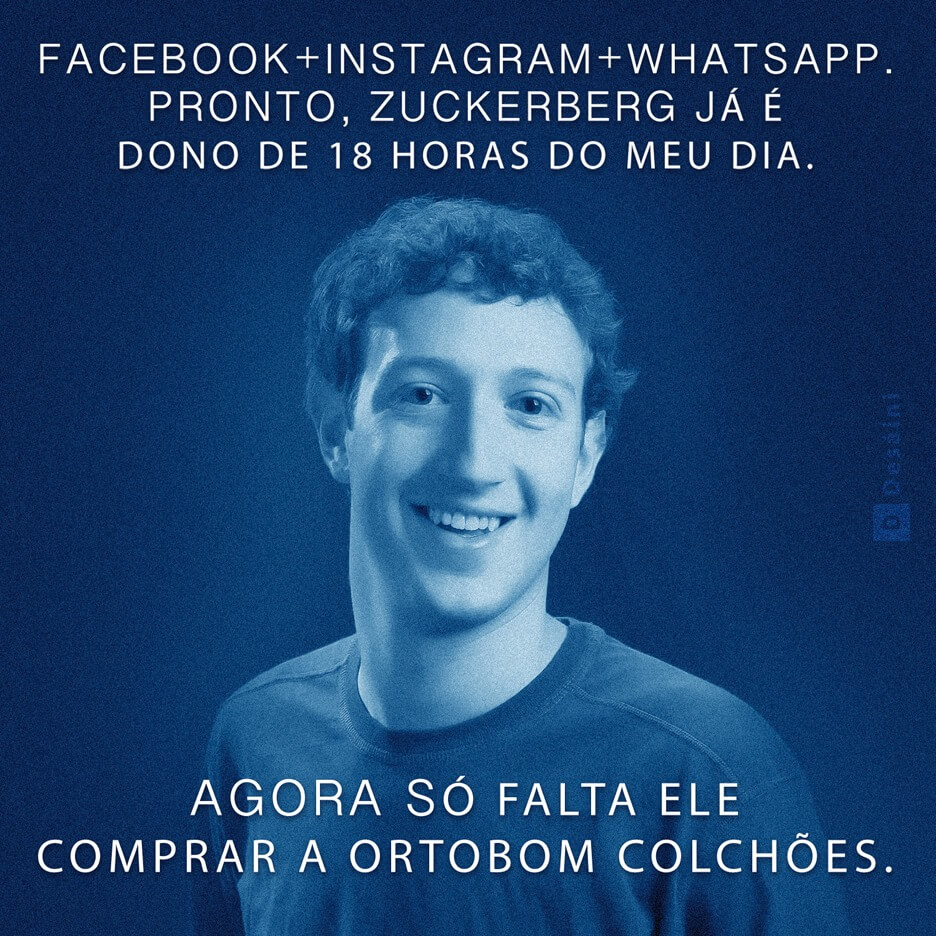 Recado Facebook Zuckerberg…
