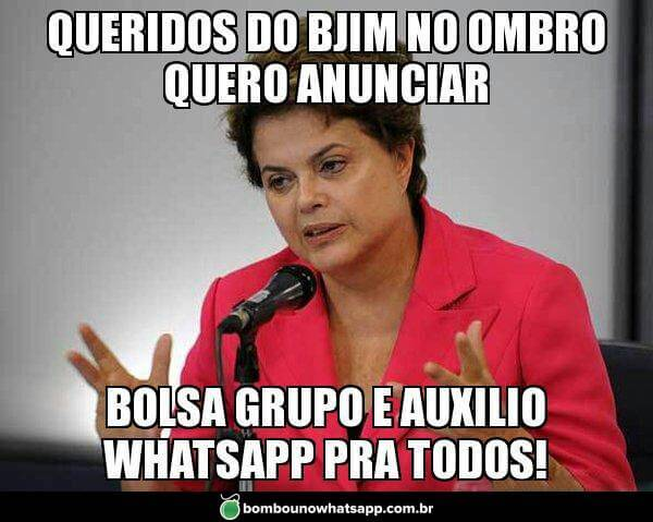 Recado Facebook Auxílio Whatsapp!