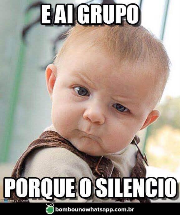 Recado Facebook Por que o Silêncio?