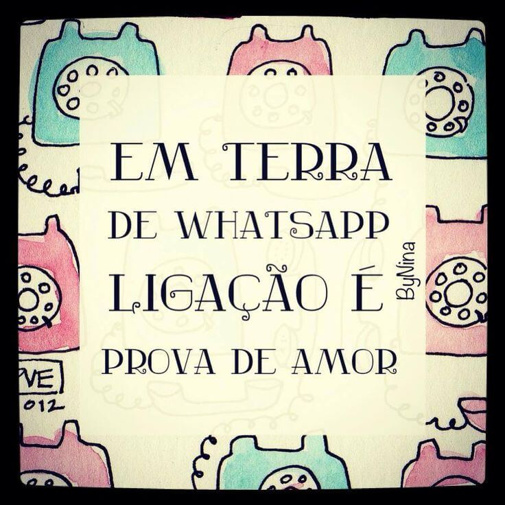 Recado Facebook Terra de Whatsapp