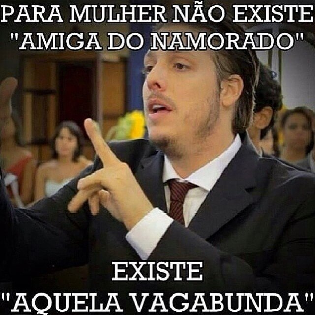 Recado Facebook Amiga do namorado…